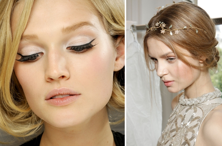 Bridal makeup for a Cool Glance at Wedding Day