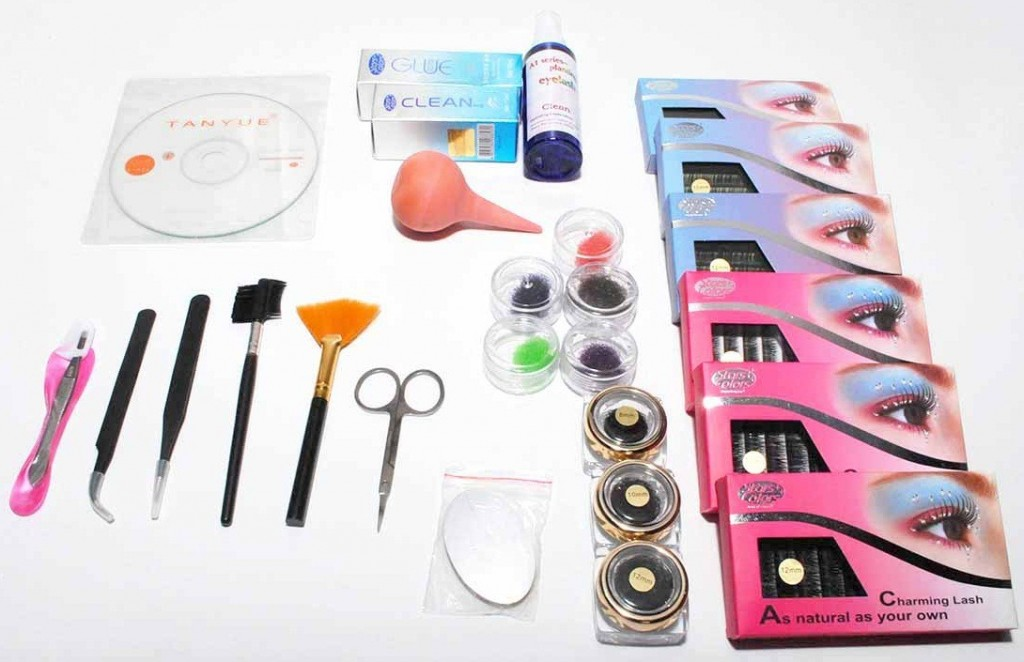 Lashes and hair kits