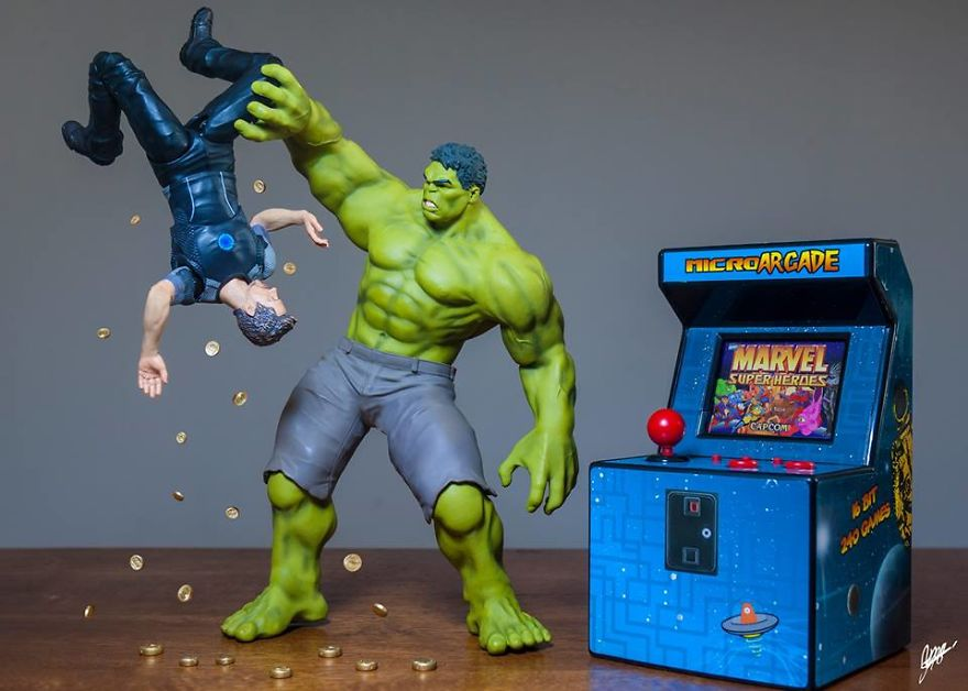 Hulk Wanna Play