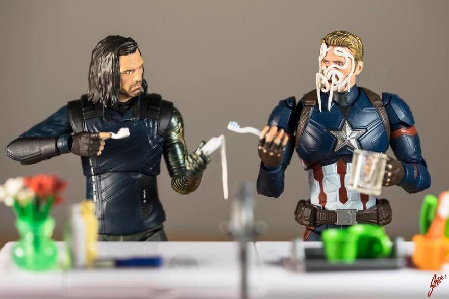 I Think You Should Ask The Wakandians To Review That New Metal Arm Of Yours‬, Bucky