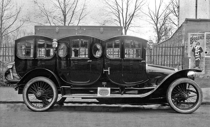 One of the original limousines