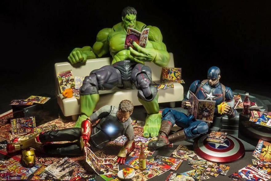 Saturdays Are For Comic Books