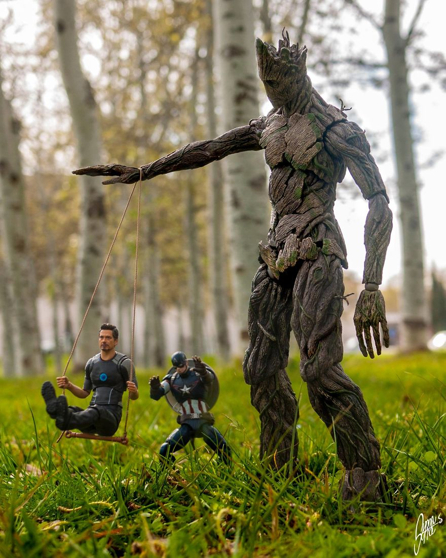 Stark Wanted Groot To Join The Avengers So Bad