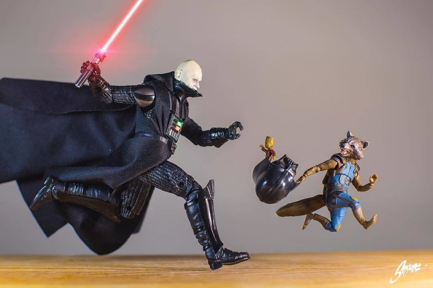 and Then The Guardians Met The The Lords Of The Sith