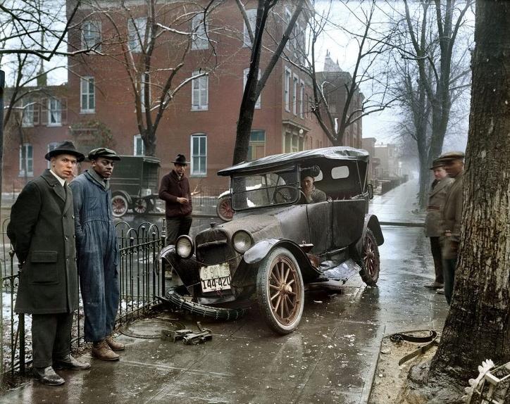 automobile accident in Washington