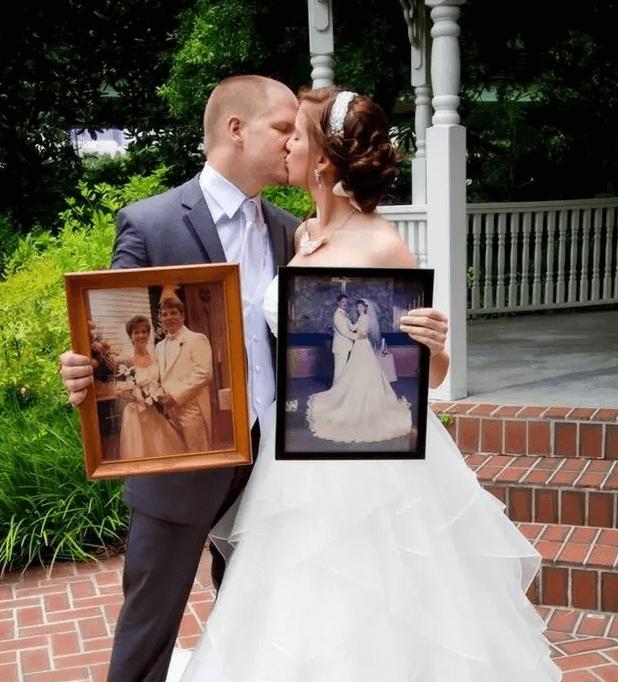 parents' wedding days