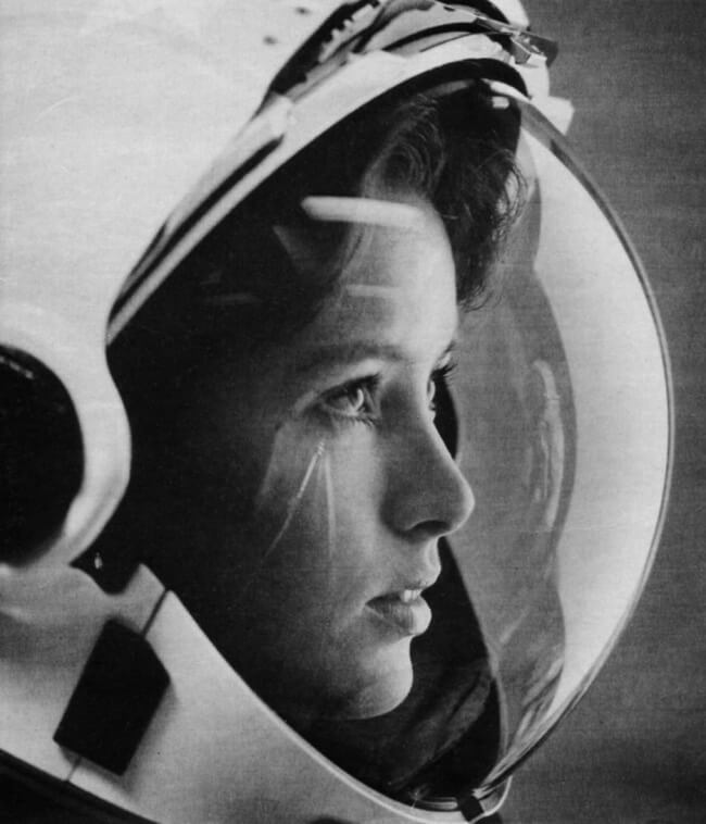 Astronaut Anna Lee Fisher