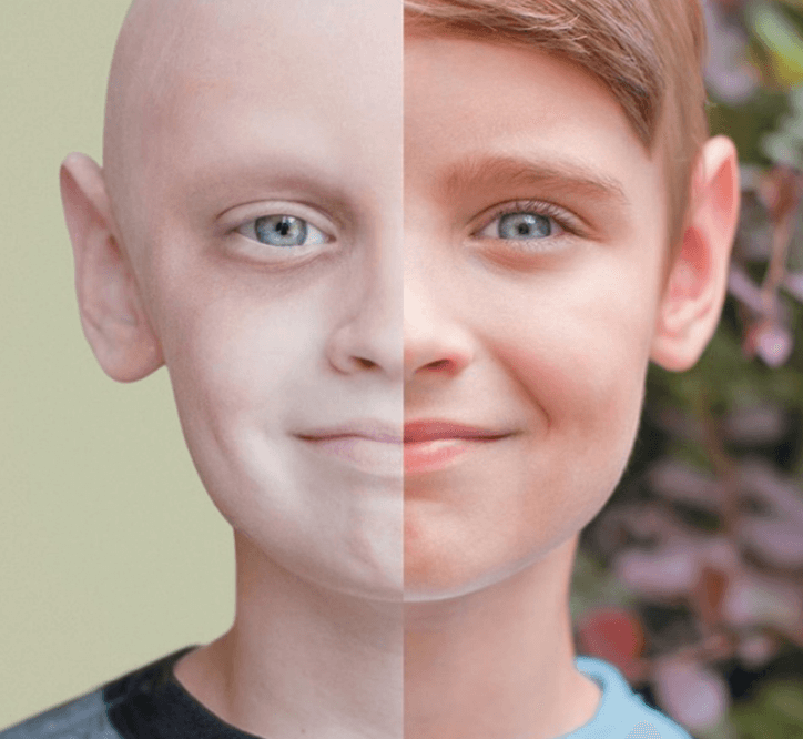 The boy who beat cancer