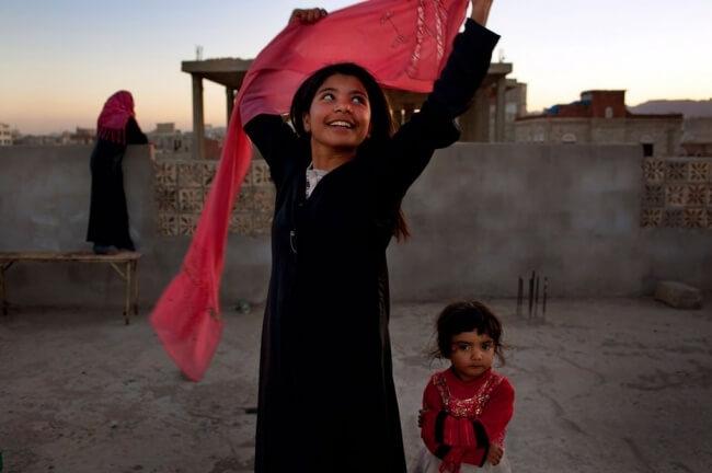 ten-year-old girl smiles